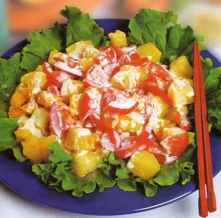 1294223321_salat-s-ananasom-i-chesnokom (450x444, 30Kb)