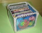 Вязание крючком: Коробка для дисков или вторая жизнь пластиковой бутылки...