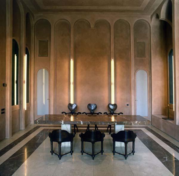 Новый замок Рикардо Бофилла