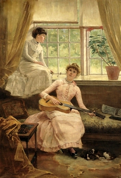 Hugo Breul (1854 – 1910)leisure-hour (407x600, 185Kb)