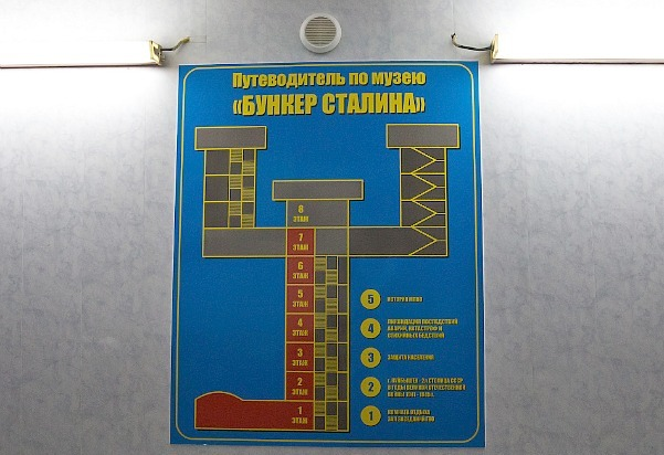 Схема бункера. Бункер