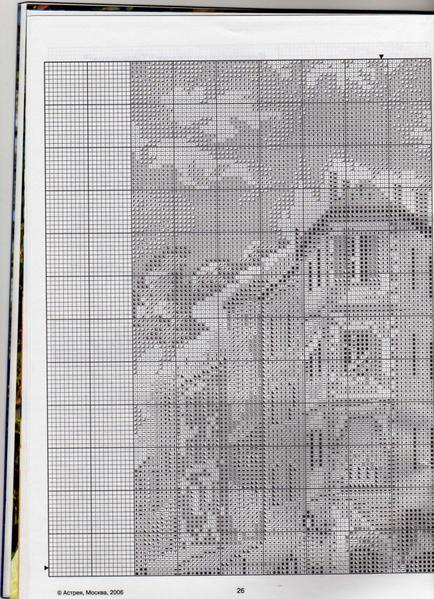 цветущий город(схема-1) (434x600, 398Kb)