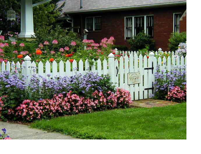 Liveinternet for Small flower beds front homes