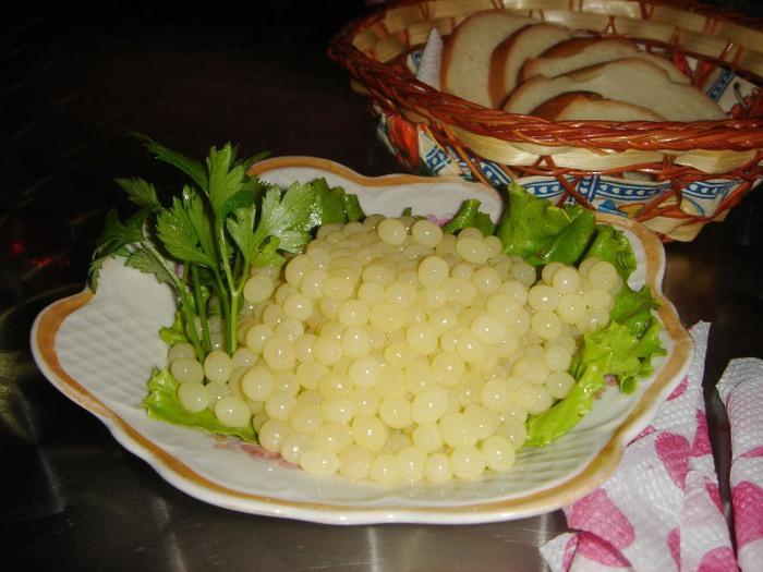 Икра улитки (лесной жемчуг) – самый дорогой деликатес