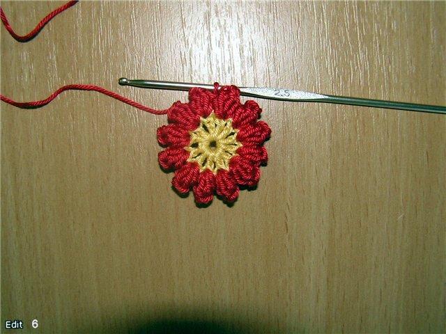 【转载】编织杯垫 (大师班) - 荷塘秀色 - 茶之韵