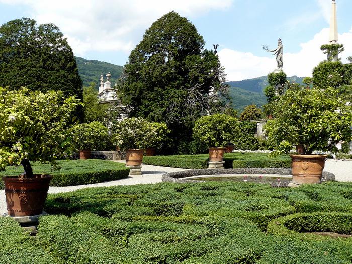 Дворец Борромео ( итал. Isola Bella - красивый остров ) 62859