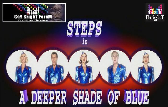 Steps Deeper Shade Of Blue