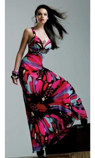 платья 2012 с рукавом