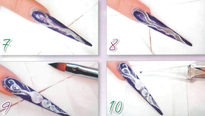 Мастер-класс по аквариумному дизайну ногтей