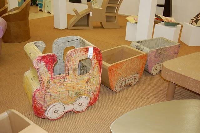 Мебель для игрушек мастер класс