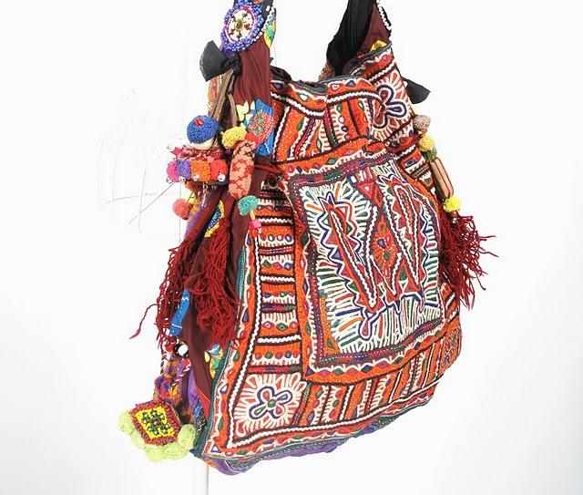 Vintage Tribal Fabric Hippie Boho Bag 6 (640x543, 104Kb)