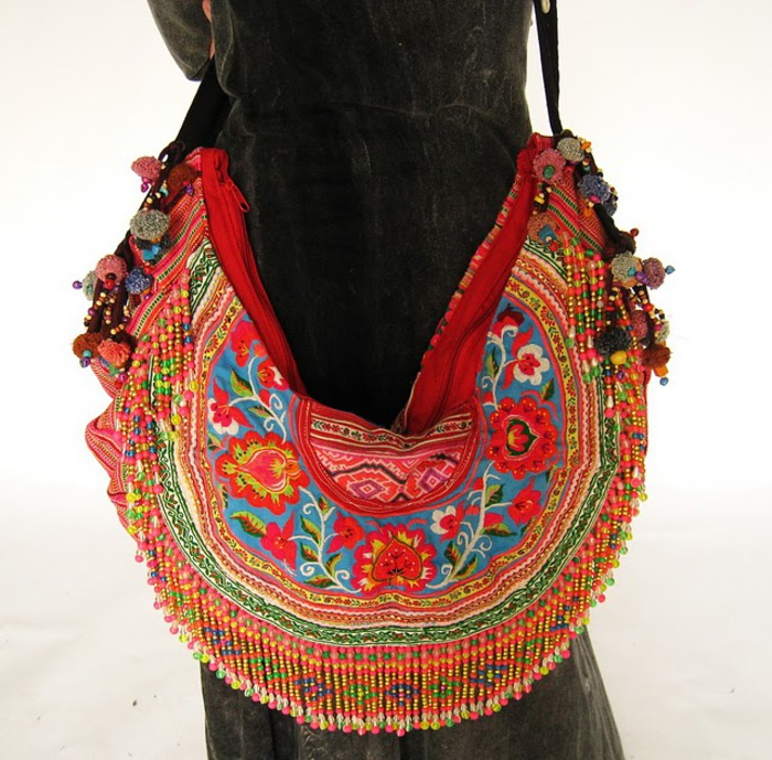 Bright Color Gypsy Boho Cross Body Bag 3 (700x689, 160Kb)