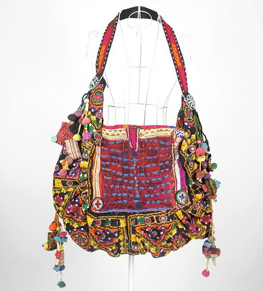 Bright Color Hippie BoHo Vintage Fabric Bag 4 (1) (541x600, 100Kb)