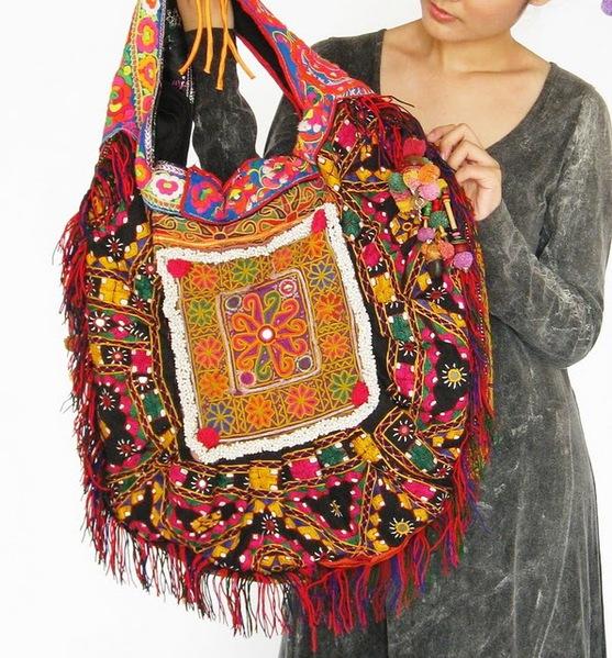 Hippie Boho Large Tote Bag 7 (557x600, 161Kb)