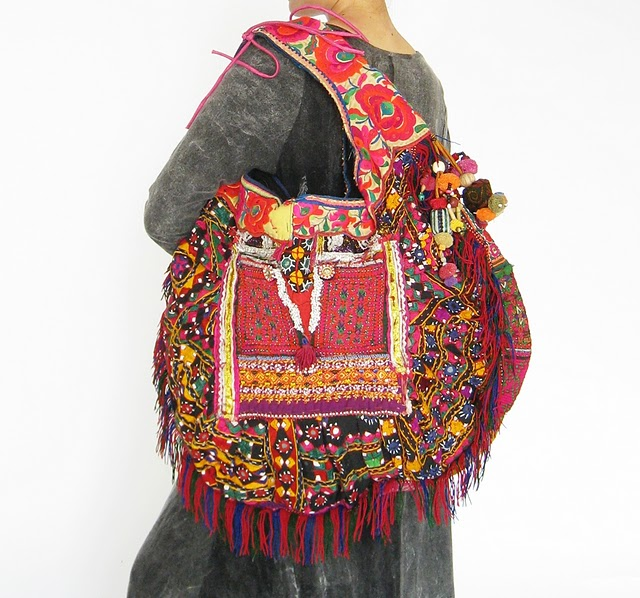 HIppie Boho Vintage Fabric Bag 1 (640x598, 111Kb)