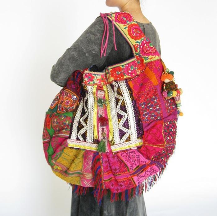 HIppie Boho Vintage Fabric Bag 2 (700x698, 123Kb)
