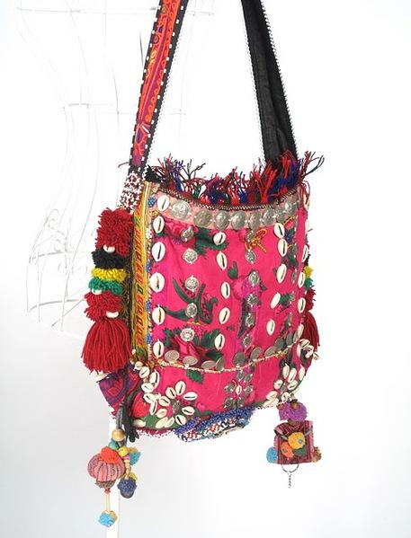 Hippie Boho Vintage Fabric Shoulder Bag 1 (457x600, 73Kb)