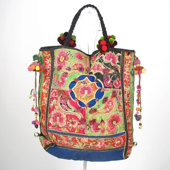 Oversize Hippie Boho Vintage Textile Bag 2 (700x698, 142Kb)