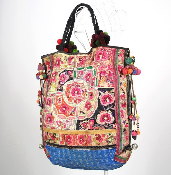Oversize Hippie Boho Vintage Textile Bag 4 (588x600, 119Kb)