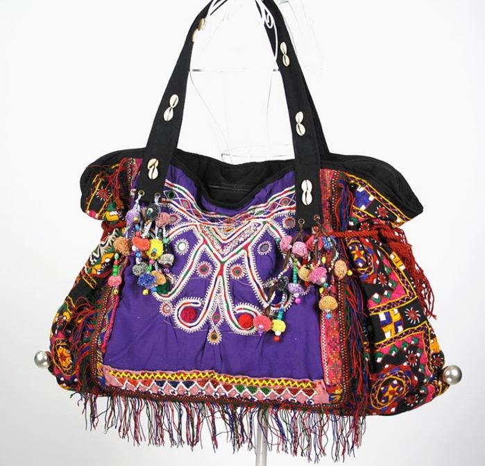Tribal Vintage Fabric Women Shoulder Bag 3 (700x671, 146Kb)