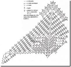 схема вязания шторки