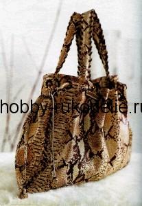Шьем кожаную сумку своими руками.  Автор:Admin.
