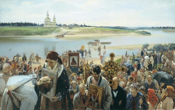 Illarion_Michajlowitsch_Prjanischnikow_Крестный ход. 1893 (700x440, 279Kb)