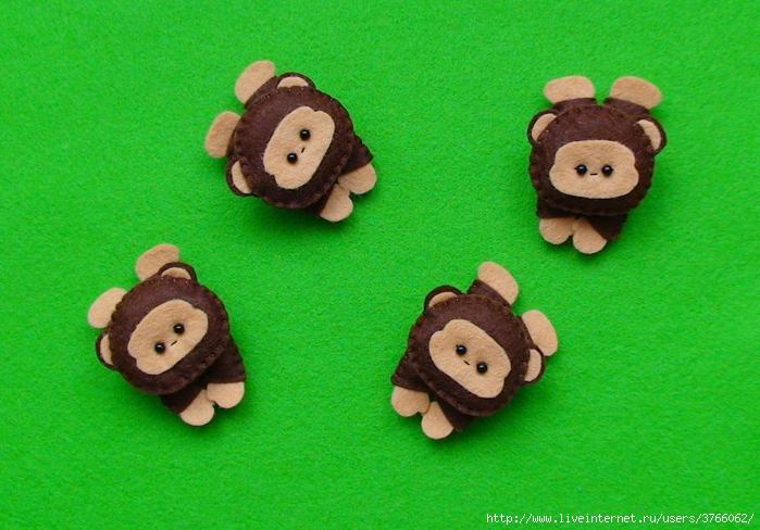 Поделки обезьяны