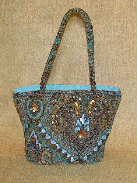 Текстиль из Индии : Летняя сумочка.