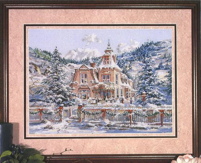 Pegasus Originals370 Rocky Mountain Christmas (640x518, 96Kb)