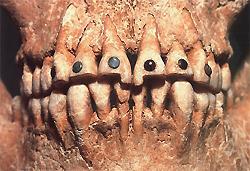 Экскурсия в прошлое.  Декорирование зубов отнюдь не модная новинка.