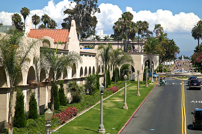 View down El Prado Balboa Park, San Diego, California, USA  Flickr - Photo Sharing! (700x463, 828Kb)