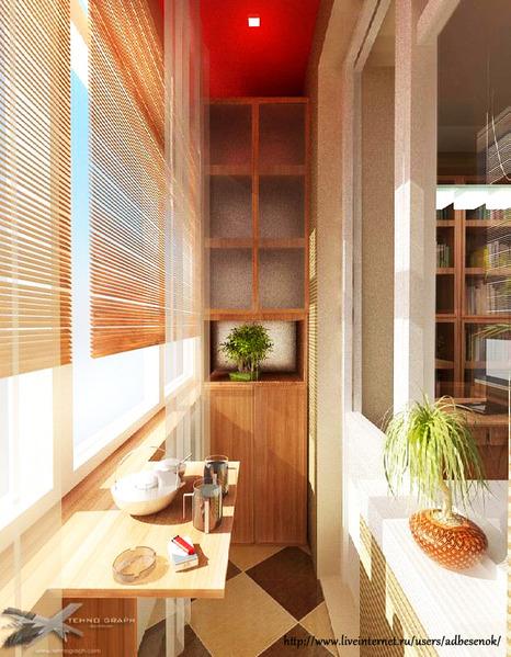 Фото дизайна балкона идеи