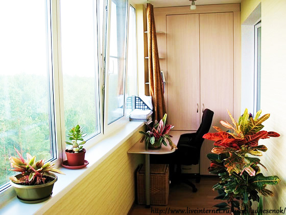 Хочу, чтобы вы вдохновились! идеи обустройства балконов и ло.