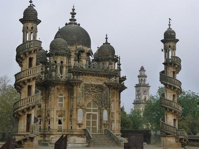 древний Джунагадх - Junagadh (Gujarat). 60212
