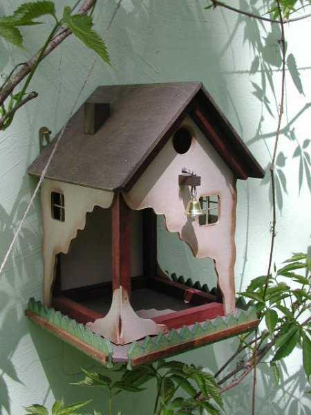 оригинални къщички за птици