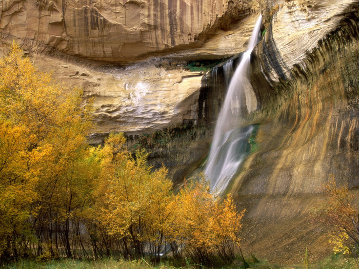 Calf Creek Falls, Grand Staircase-Escalante Nati (700x525, 208Kb)
