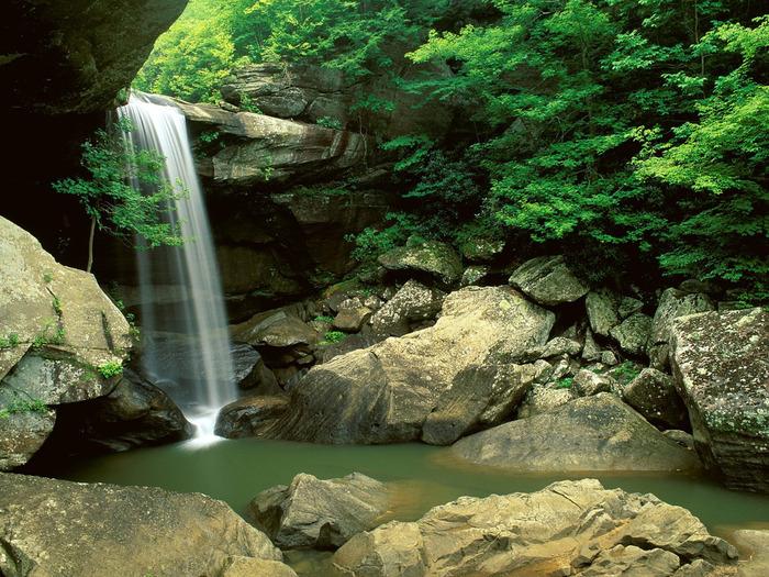 Eagle Creek Falls, Cumberland Falls State Park,  (700x525, 221Kb)