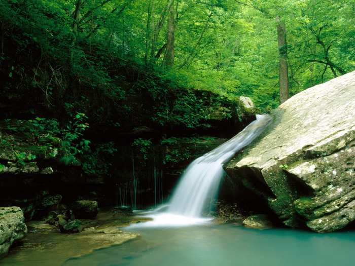 Indian Creek, Buffalo National River, Arkansas - (700x525, 187Kb)