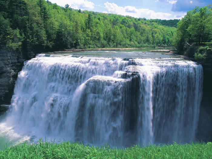 Letchworth State Park, New York - 1600x1200 - ID (700x525, 169Kb)