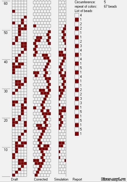 В данной статье Вы можете найти различные схемы жгутов из бисера. .  Здесь собрана достаточно интересная коллекция...