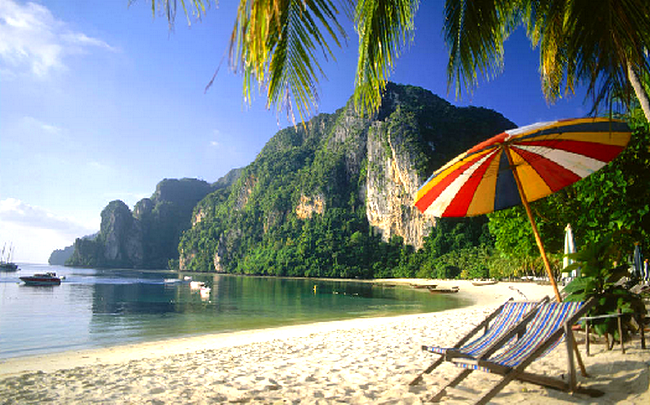 Proshots - Koh Phi Phi Lee, Phuket, Thailand - Professional Photos (650x405, 616Kb)