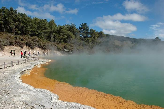 """Священные Воды, или """"Wai-O-Tapu"""" в Новой Зеландии. 29621"""