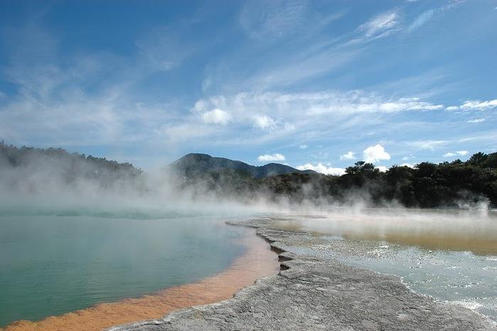 """Священные Воды, или """"Wai-O-Tapu"""" в Новой Зеландии. 27512"""