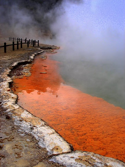"""Священные Воды, или """"Wai-O-Tapu"""" в Новой Зеландии. 77426"""