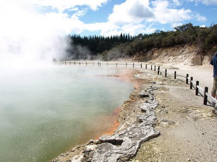 """Священные Воды, или """"Wai-O-Tapu"""" в Новой Зеландии. 45115"""