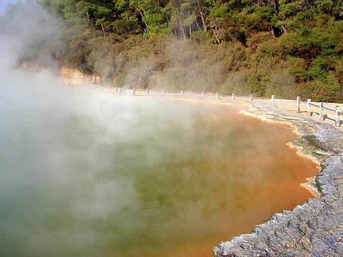 """Священные Воды, или """"Wai-O-Tapu"""" в Новой Зеландии. 12778"""