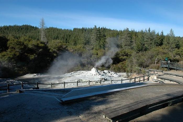 """Священные Воды, или """"Wai-O-Tapu"""" в Новой Зеландии. 47899"""