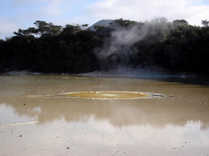 """Священные Воды, или """"Wai-O-Tapu"""" в Новой Зеландии. 81428"""