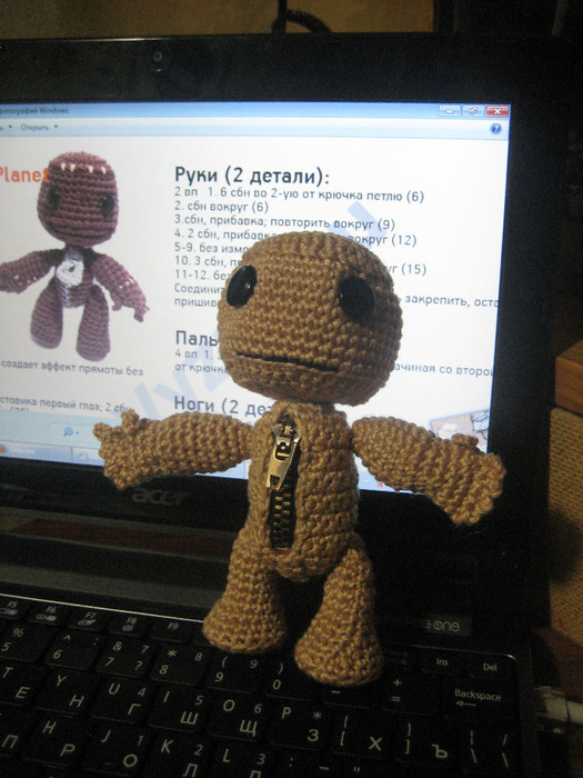 Sackboy pattern now available at on my ravelry page:a href=http